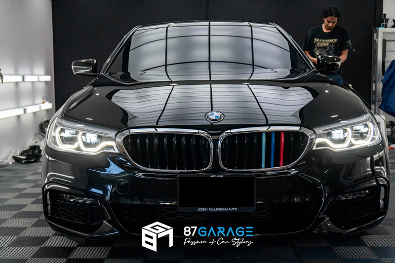 BMW Series5 520d Windows Film