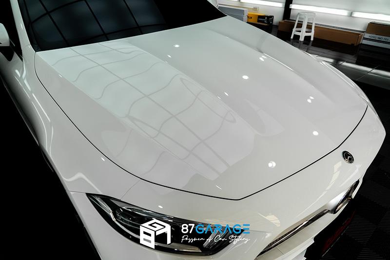 Benz CLS220 ฟิล์มกันรอย